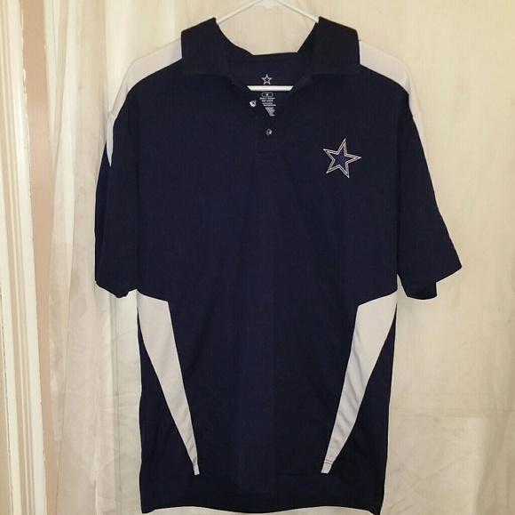 Cowboys Authentic Apparel Other - Cowboys Authentic Apparel Collard Men's Shirt